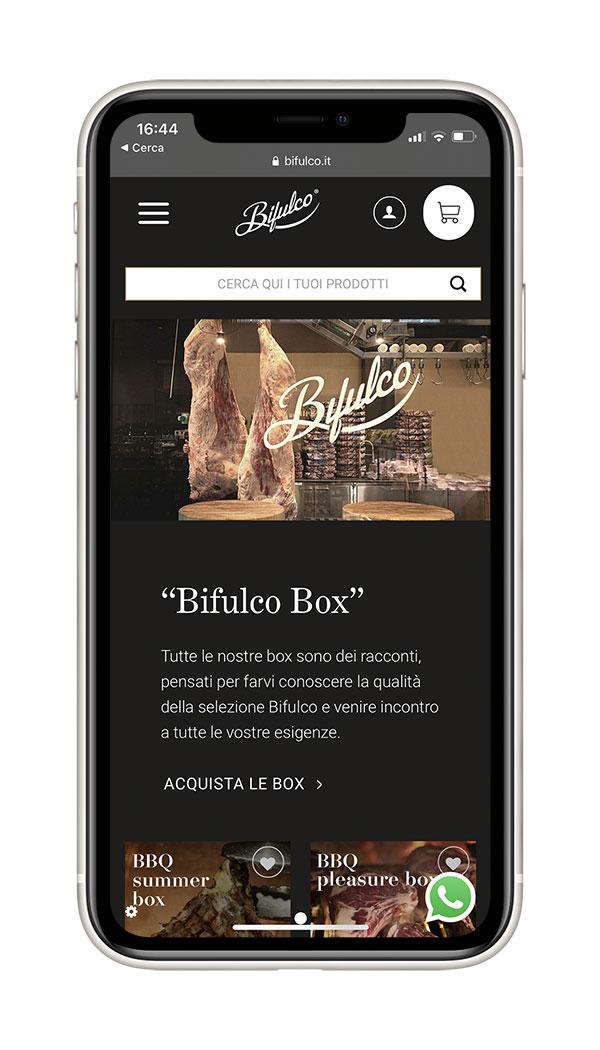 Sviluppo sito web Bifulco   Agenzia Web Seed Media Agency